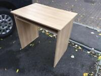 Desk with keyboard tray