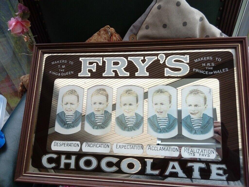 Rare Frys Chocolate Five Boys Mirror In Carlton Nottinghamshire Gumtree