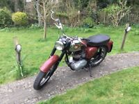 BSA C15 1966 With Better G Series Engine and Matching Numbers