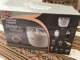 Tommee Tippee bottle warmer and steriliser and breast pump