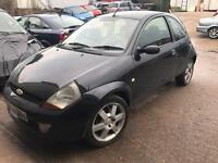 FORD KA SPORT 1.6 SPARES OR REPAIR