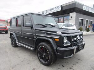 2015 Mercedes-Benz G-Class G63 AMG Mat Black on Black. Low Kms