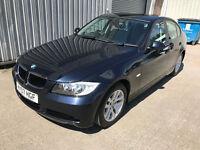 2007 (07) BMW 320i SE 2.0 PETROL - MONACO BLUE - 13 SERVICE STAMPS - JAN 18 MOT - E90 3 SERIES