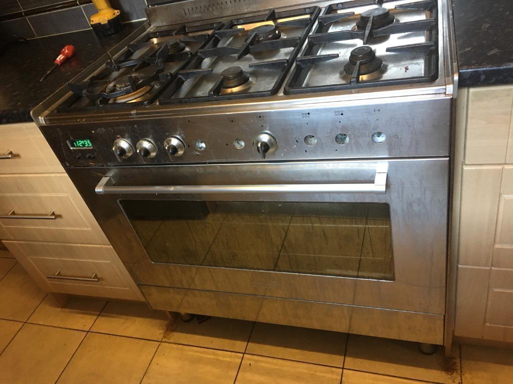 DeLonghi DFS901SS Dual Kitchen Range