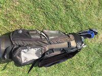 Huge golf club set and bag