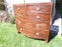 FABULOUS ANTIQUE CHEST OF DRAWERS