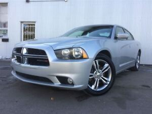 2012 Dodge Charger SXT, AWD, LEATHER, HEATED SEATS, BLUETOOTH.