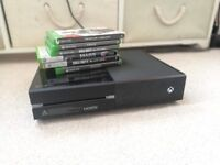 XBOX ONE + 6 Games + Headset