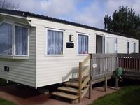 For sale. BK Bluebird Carnival 2012, 8 berth, 3 bedroom, static caravan. Dawlish Warren