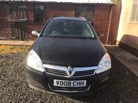 Vauxhall ASTRA 1,7 ESTATE BLACK 2008 ONLY £1395