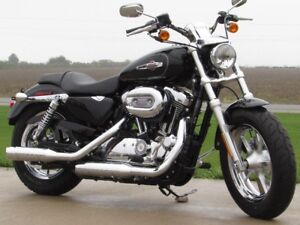 2014 Harley-Davidson XL1200C Custom   Like out of the Crate  ONL
