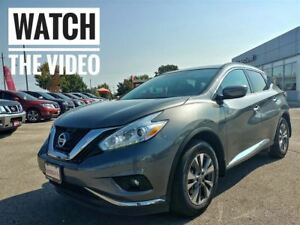 2017 Nissan Murano SV AWD NAVI  FREE Delivery