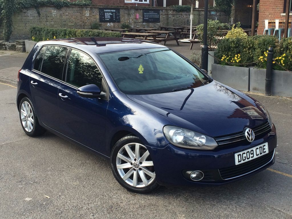 volkswagen golf gt tdi 2009 manual mk6 diesel shadow blue metallic in enfield london gumtree. Black Bedroom Furniture Sets. Home Design Ideas