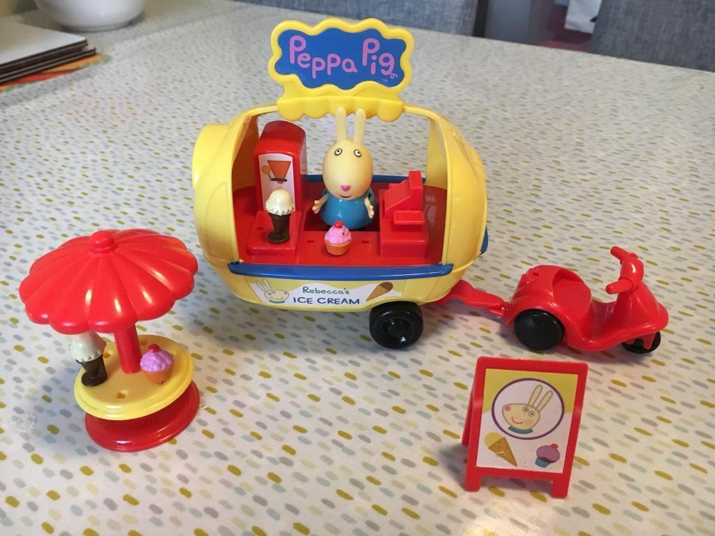 Peppa Pig holiday ice cream van playset