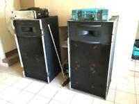 Martin audio BIG speakers
