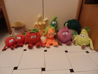 9 plush soft toys goodness gang
