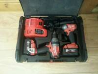 Milwaukee m18 fuel twin pack