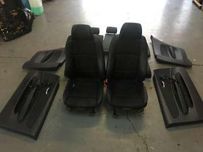 BMW E87 E81 M SPORT 118D (08'-13') M SPORT HALF LEATHER SEATS AND DOOR CARDS SET