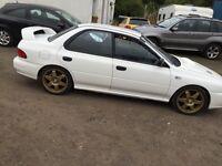 Rare Subaru wrx ra 85 000 miles