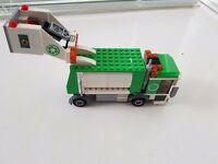 Lego Bin Lorry complete with figures and bins
