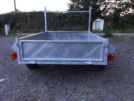 6x4 galvanised trailer.