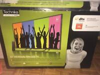 "32"" technika flat screen tv & amazon fire stick"