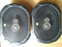 "JBL GTO935 6"" x 9"" 300 WATT 3-WAY COAXIAL CAR SPEAKERS"