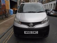 2011 NISSAN NV200 SE 15DCI CARB DERIVED VAN S/HISTORY EURO5 ELECTRIC PACK BLUETOOTH REAR CAMERA
