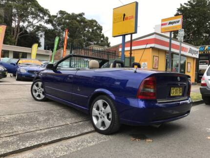 2004 Holden Astra Convertible Sports Soft Top Electric Blue CHEAP