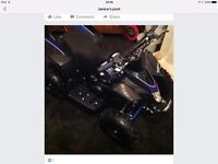 Brand new 50cc quad with helmet and gloves