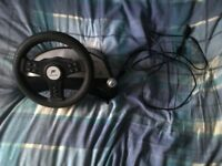 Fanatec Speedster 2 Steering Wheel + Pedals Set For Sale (For Playstation).