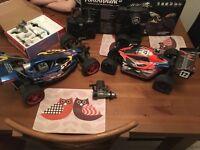 Nitro rc cars / buggy