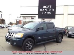 2014 Nissan Titan PRO-4X CREW 5.6L V8 | NAVIGATION | LEATHER