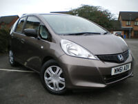 * 2012 HONDA JAZZ 1.2L i-VTCE S 5DR * 6 MONTHS WARRANTY*12 MONTHS MOT* L@@KS AND DRIVE LIKE NEW***
