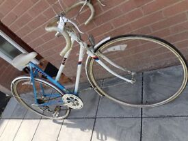 Original Raleigh Riva Racing Bicycle