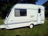 Abi sprinter gt 390/2 berth 1998 caravan light weight full awning no damp lovely condition