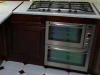 Zanussi and Hob (Gas) in Good Condition
