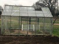 Green house for same with extra glass for broken ones