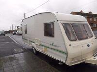 5 berth bailey caravan , full awning included £2450