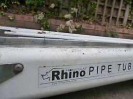 Vivaro Trafic RHINO Roof bars, Rhino Ladder rack, Rhino Pipe Tube £150. RRP £400
