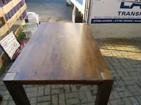 Dining room table no chairs