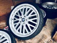 """VW T5 20"""" Kahn alloys/tyres"""