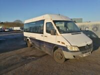 Mercedes sprinter 413cdi spare parts mini bus available
