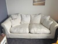Three seater couch x2