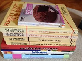 19 Miscellaneous cookery books & box of recipe cards