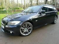 BMW 318D SPORT PLUS EDITION TOURER ESTATE 2012 61'REG*FSH*SAT-NAV*LEATHER*#AVANT#M SPORT#A4#GTD