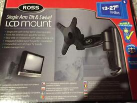 New tv lcd mount