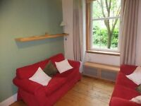 1 bedroom fully furnished ground floor flat for rent on Wardlaw Street, Gorgie, Edinburgh