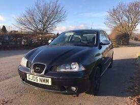 Seat Ibiza 1.8T 20v FR 150hp 3dr - Black