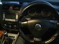 MK5 VW GOLF GTI EDITION 30 FLAT BOTTOM STEERING WHEEL RARE!!